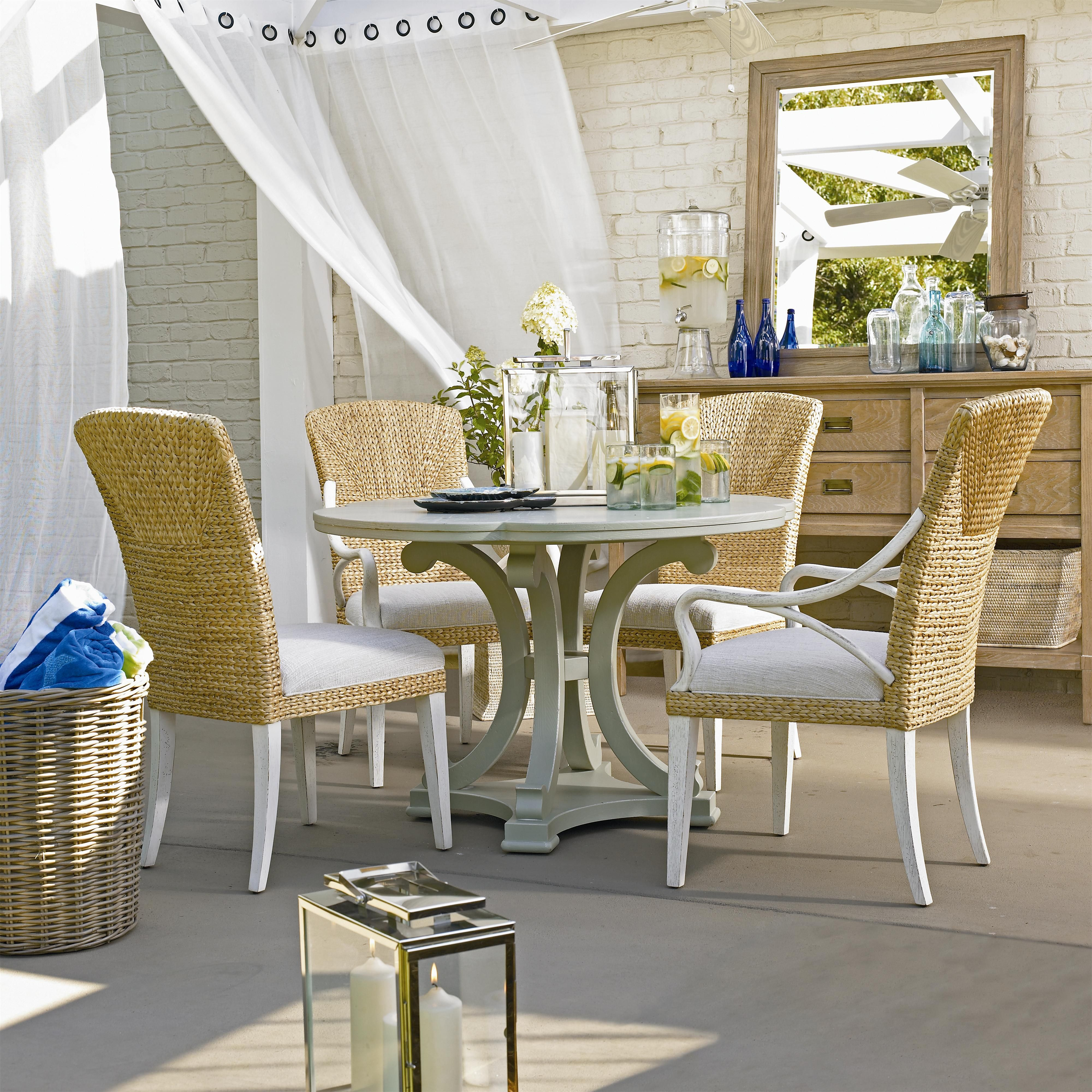 Coastal living resort 5 piece table and chair set by stanley furniture