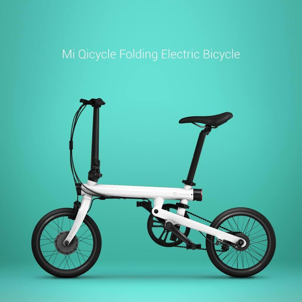 Review Mi Qicycle Sepeda Lipat Listrik Yang Terhubung Dengan