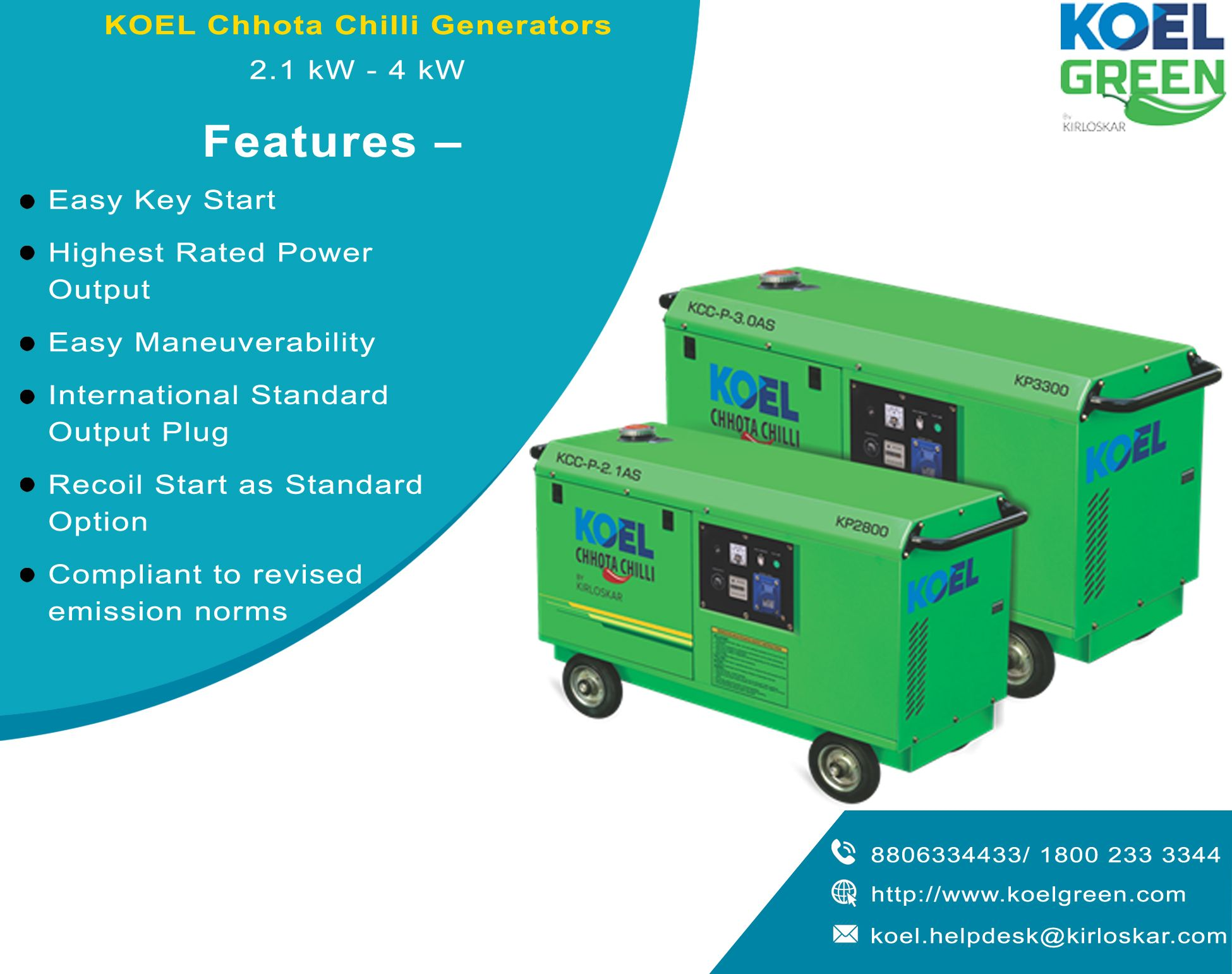 Best Quality Portable Generator Petrol Generators for Sale KOEL