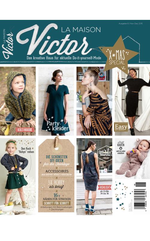 la maison victor magazine abonnement mes patrons couture