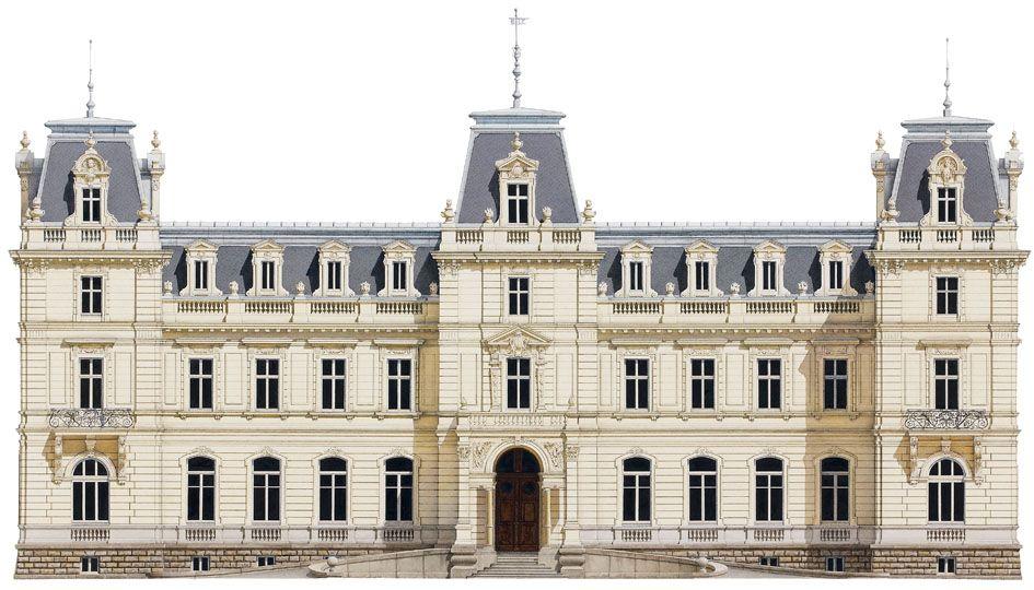 El palacio  Potocki en Ucrania