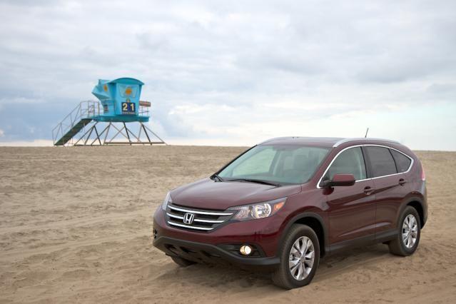 10 SUVs That Get Good Gas Mileage: 2012 Honda CR V