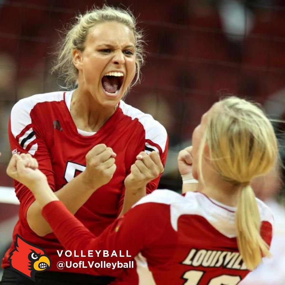 Congratulations To University Of Louisville Volleyball Team For Knocking Off 10 Kentucky Last Night At The Kfc Yum Louisville Volleyball Louisville Cardinals
