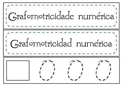 Recursos Infantiles: GRAFOMOTRICIDAD DE NÚMEROS