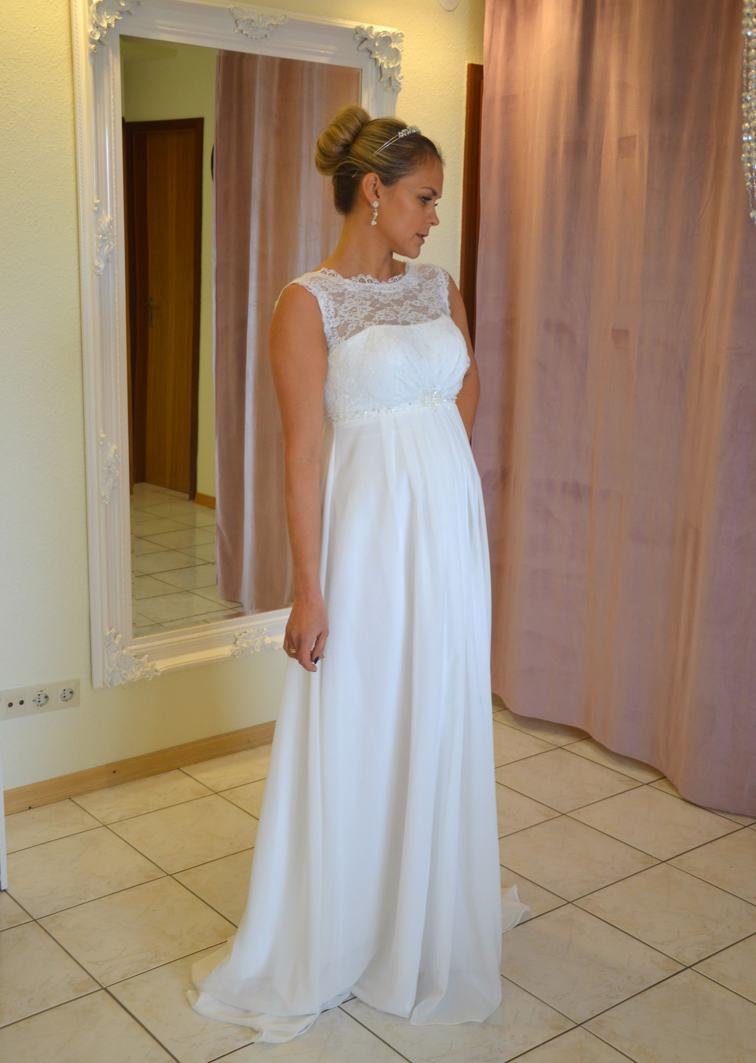 Brautkleid Umstandskleid 17 bis 17 Hochzeit Braut Kleid