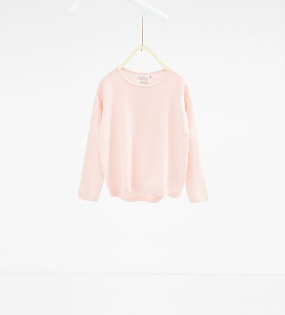 Basic sweater with zip - Available in more colours