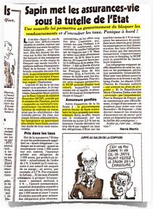 Hold-Up de l'Assurance Vie : les Révélations du Canard Enchaîné   Le Vaillant Petit Economiste