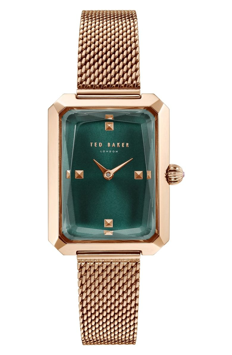 f5ef2adef Free shipping and returns on Ted Baker London Cara Mesh Strap Watch ...