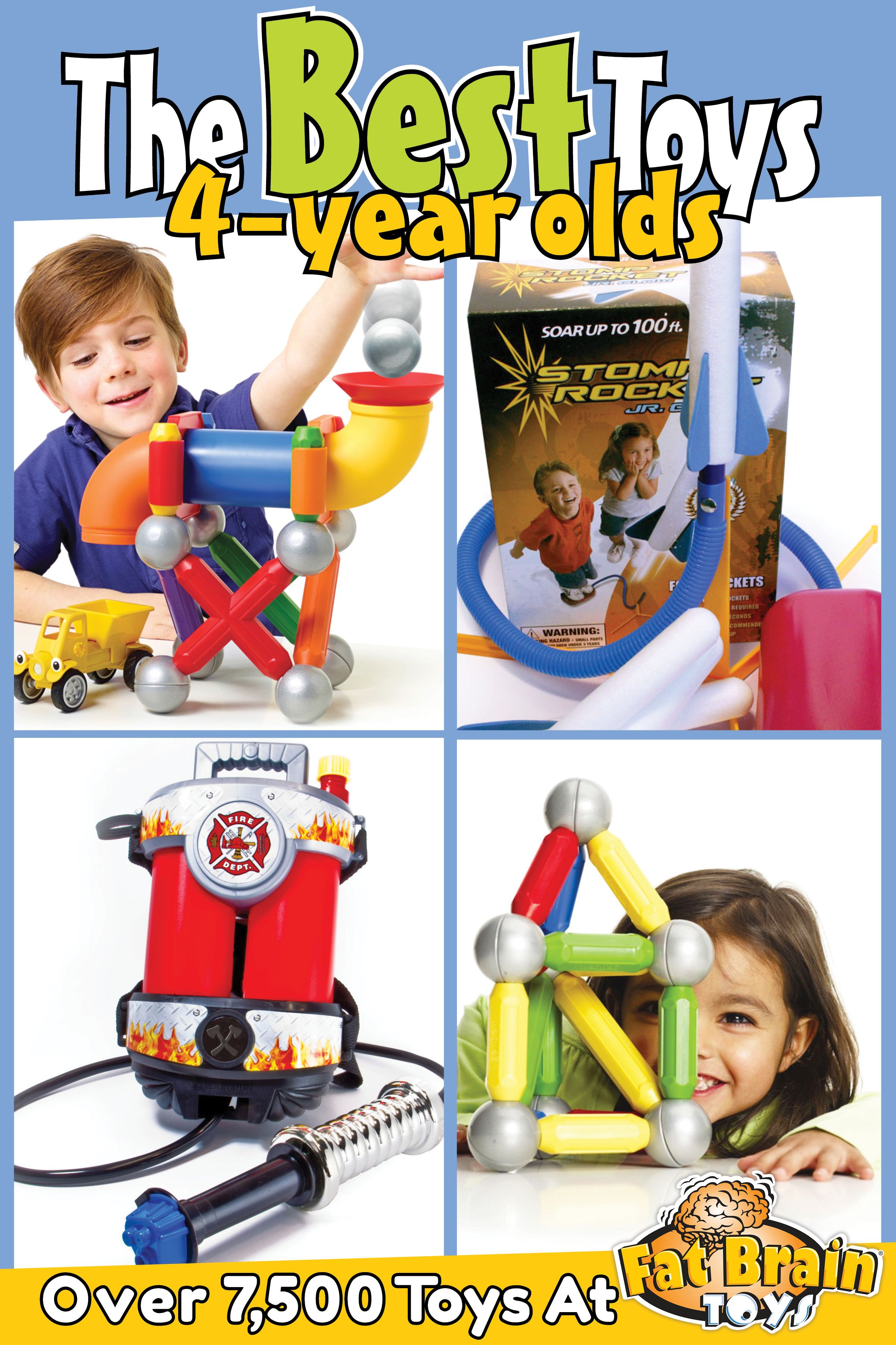 The Best Toys Games And Ts On The Planet For 4 Year Olds