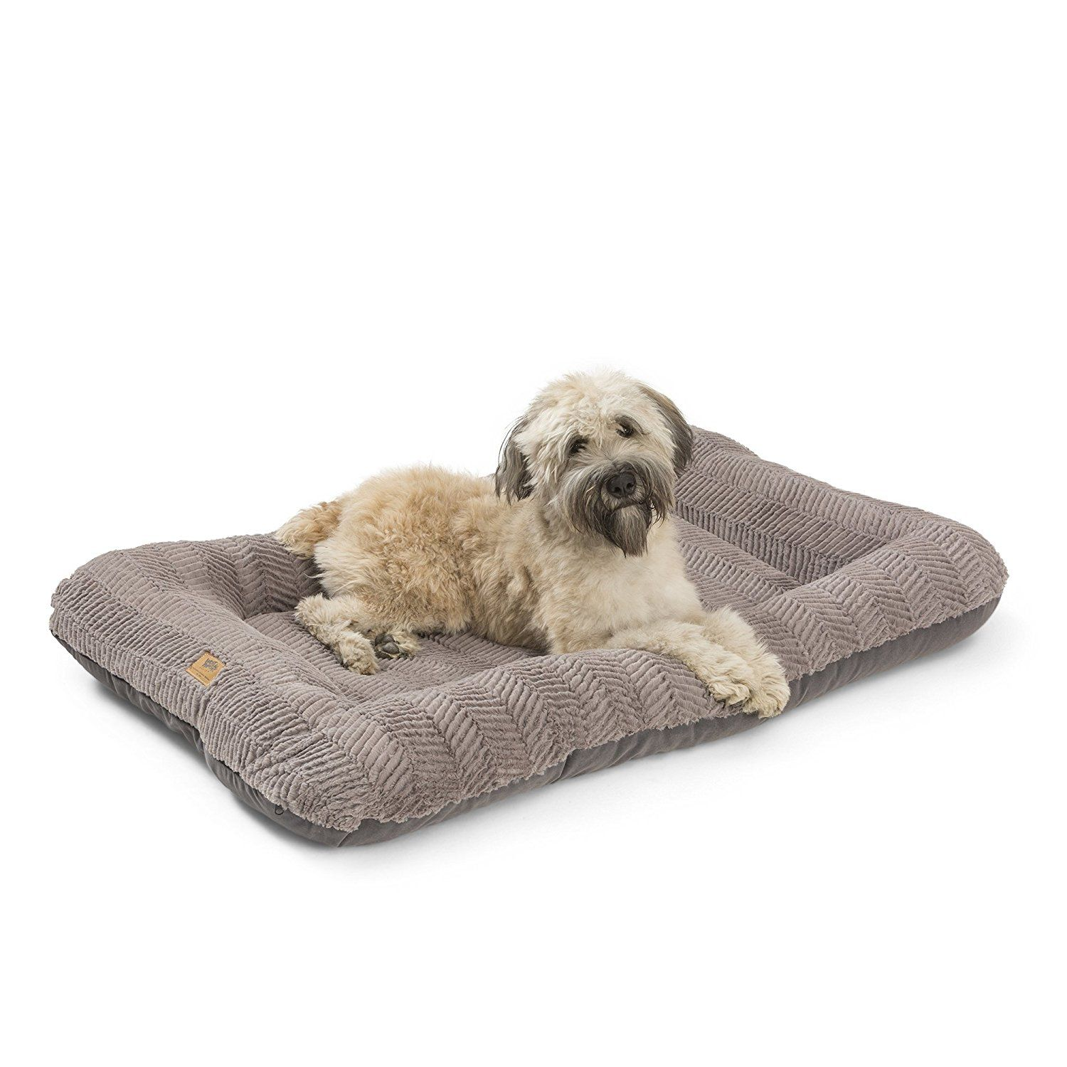 West Paw Design Heyday Dog Bed with Microsuede, Super