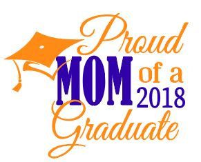 5ec6424e Proud MOM, dad, sister, cousin, grandmother, etc of the 2018 Graduate. SVG  Cut File by MakeitPersonalShop on Etsy