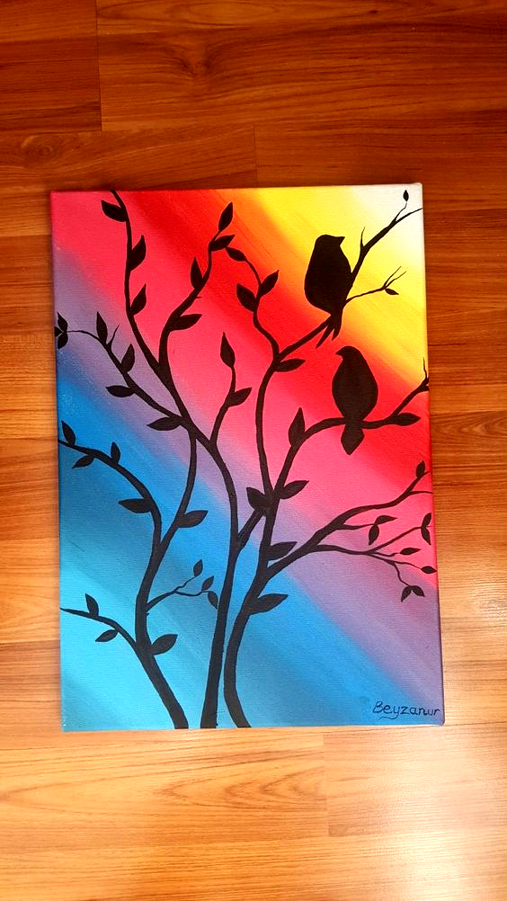 Pin By Wolfpark Minanda On Art Sketches Diy Canvas Painting Drawings