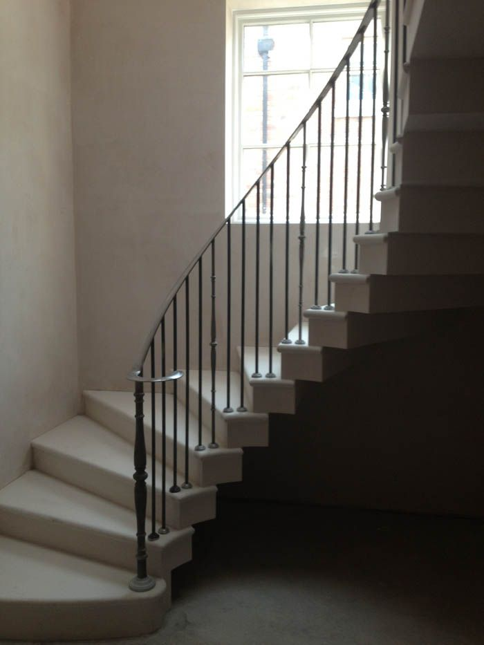 Curved Cantilever Staircase By Ian Knapper Staircase Design Beautiful Design