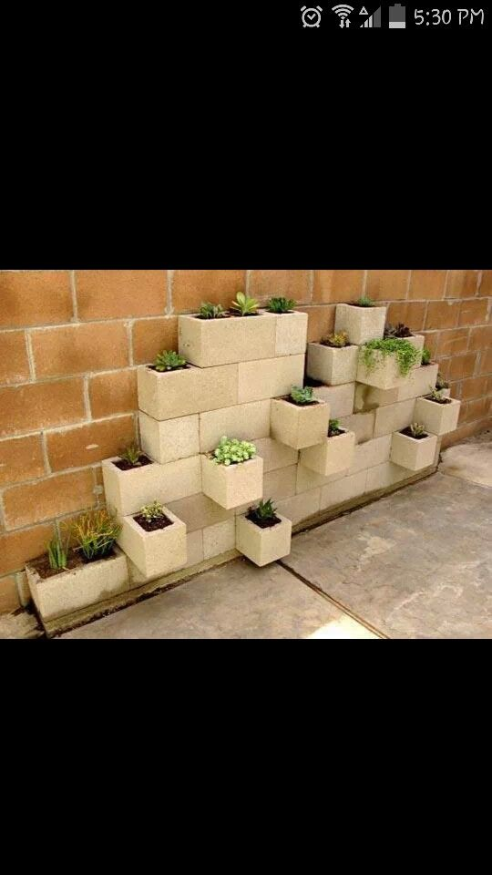I like this idea either for flowers or fresh herbs