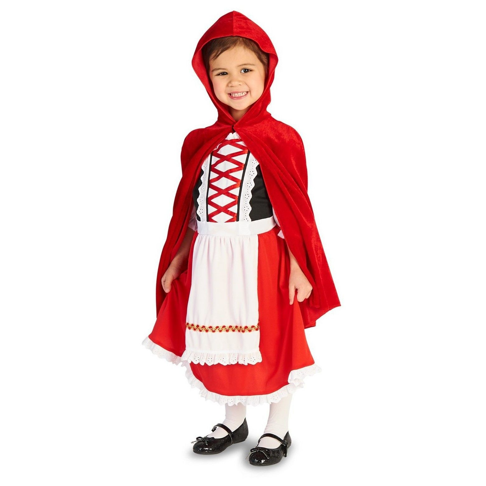 Halloween Red Riding Hood Classic Toddler Costume 2-4T Toddler Girlu0027s Size 2T-4T Multi-Colored  sc 1 st  Pinterest & Halloween Red Riding Hood Classic Toddler Costume 2-4T Toddler ...