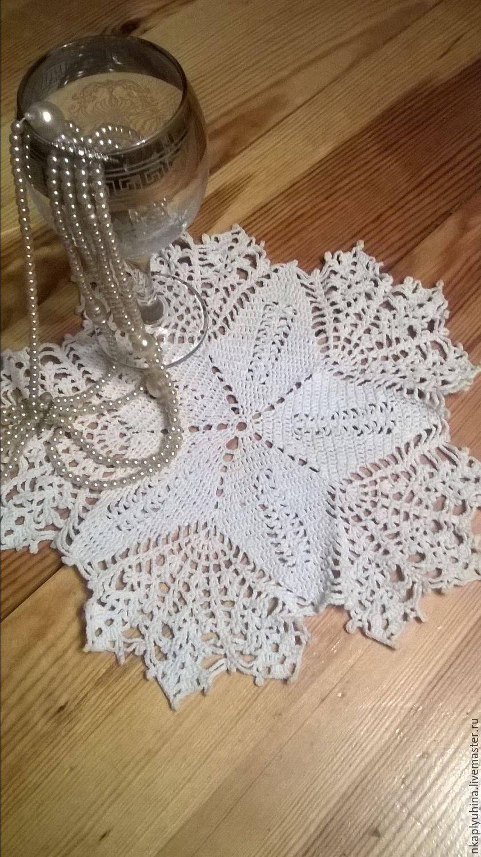 Заказы на вязание крючком салфеток