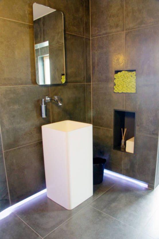 Baños ¡10 lavabos pequeños sensacionales! - lavabos pequeos