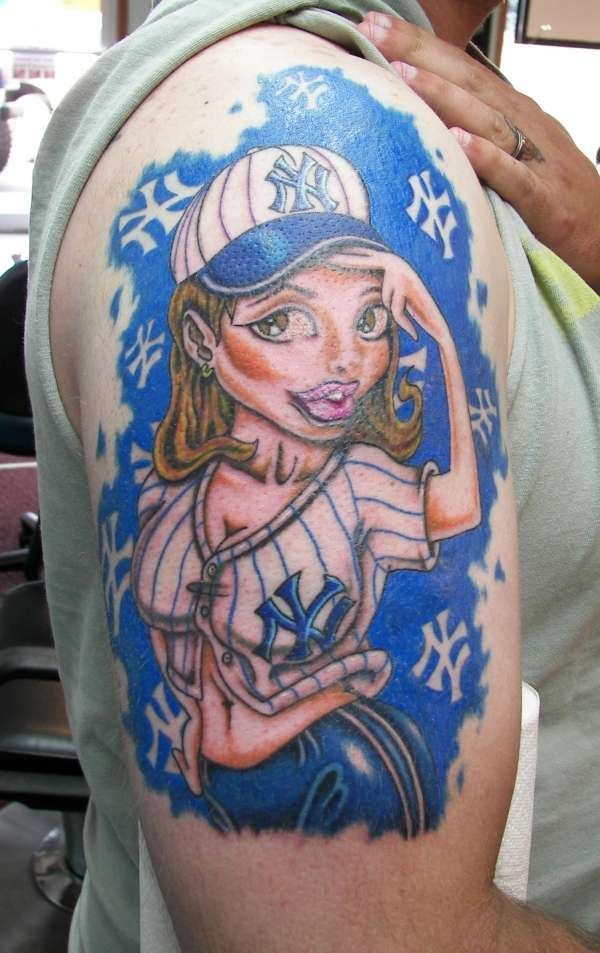New School Tattoo Nightmares Pin Up Girl Tattoo Designs ...