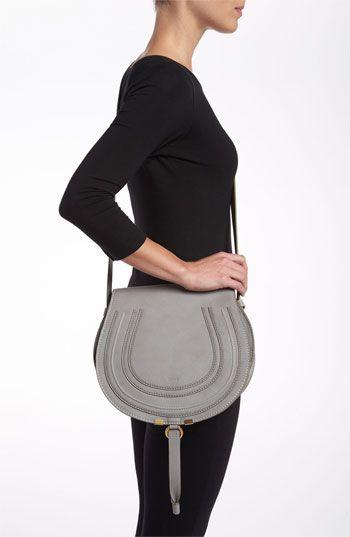 Chloé  Marcie - Medium  Leather Crossbody Bag  252ecc81663bc