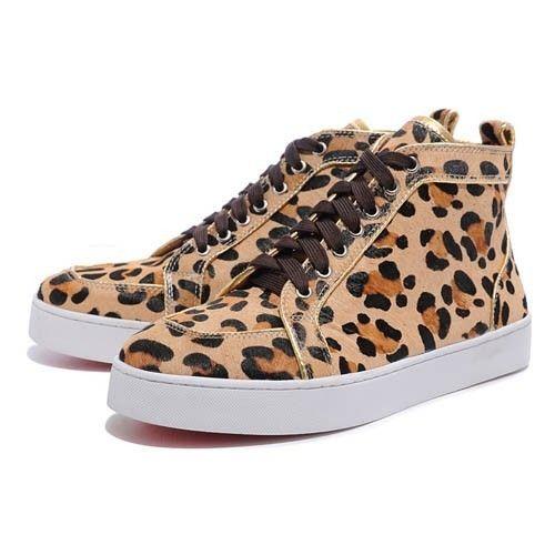 louboutin leopard pas cher