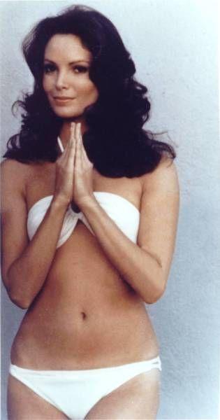 Jaclyn smith white bikini images