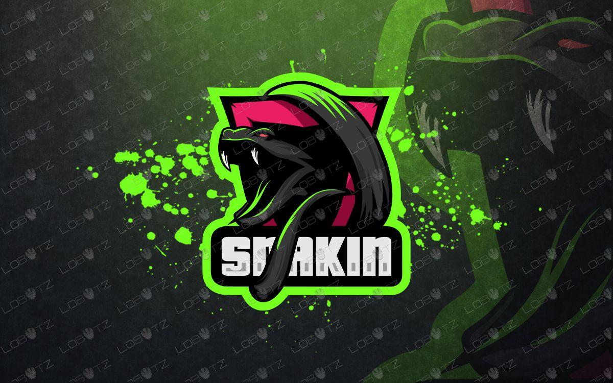 Snake mascot logo snake esports logo in 2020 Game logo