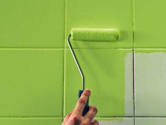 Consejos para pintar azulejos de ba os http www - Pintar bano con hongos ...