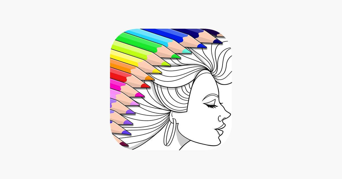 Ios Colorfy Coloring Book Games Fun Games For Free Apple Boom Colorful Art Colorfy Coloring Books