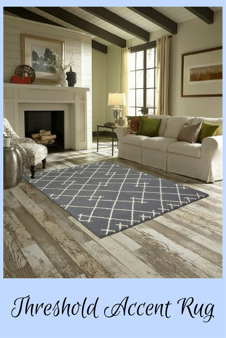 Farmhouse touches on a budget. Kenya, Fleece Accent Rug from ...