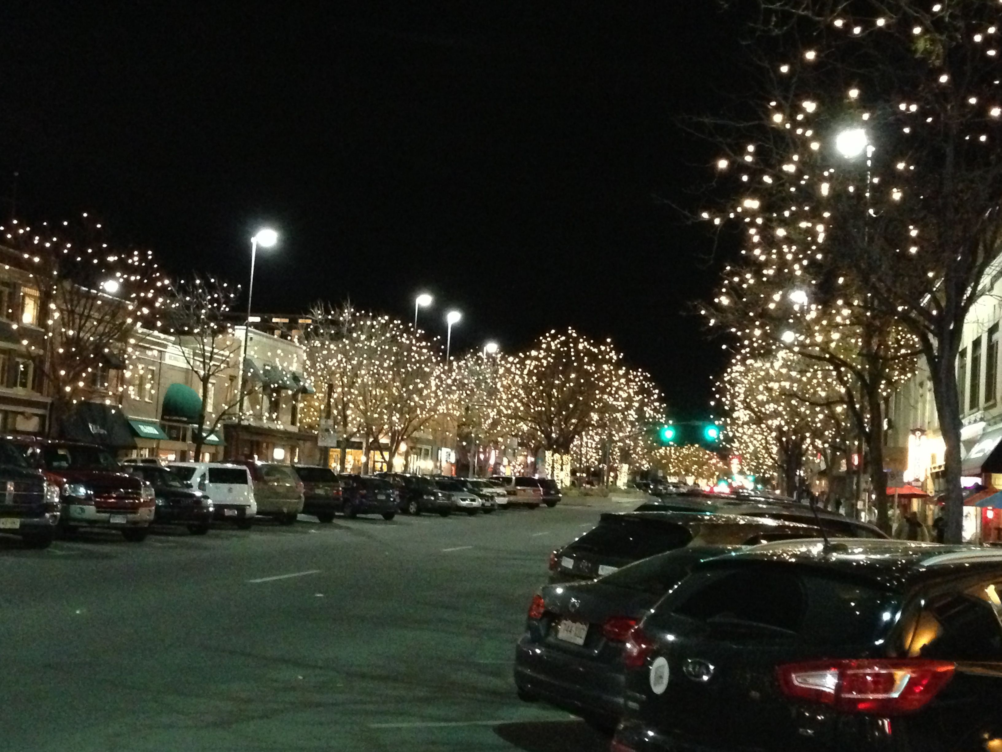 Downtown holiday lights Fort Collins Places to travel