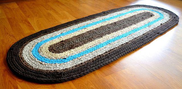 Custom Rug Crochet Rag Rug Rag Rug Rugs