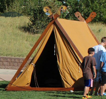 Lodin S Viking Quot A Quot Frame Tents His Reproduction Of The