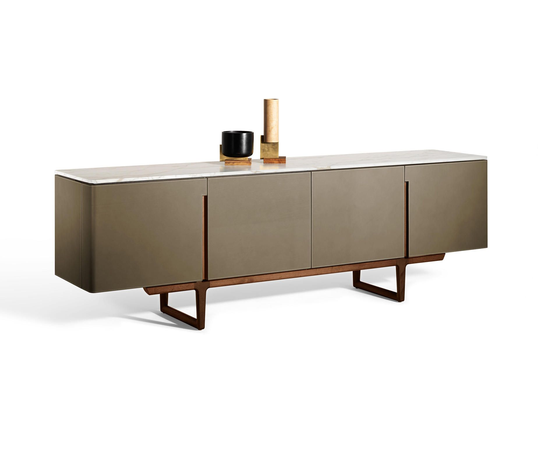 Fidelio Designer Sideboards From Poltrona Frau All Information High Resolution Images Cads Catalogues Contemporary Sideboard Low Cabinet Furniture