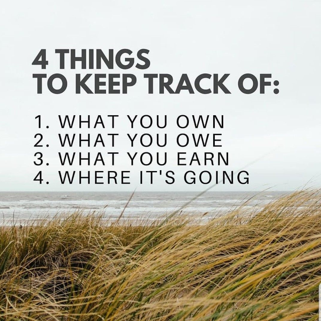4 things to keep track of (With images) Financial