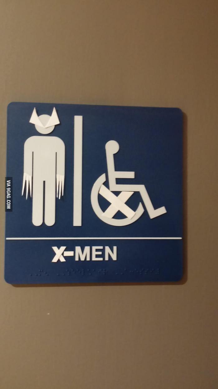 Bathroom Signs Video x men bathroom sign | signs, men's bathroom and x men