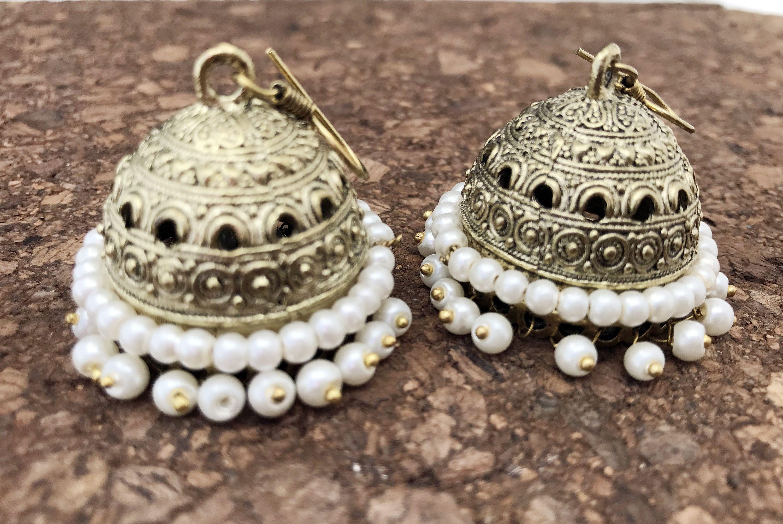 30+ Pearl wedding earrings gold info