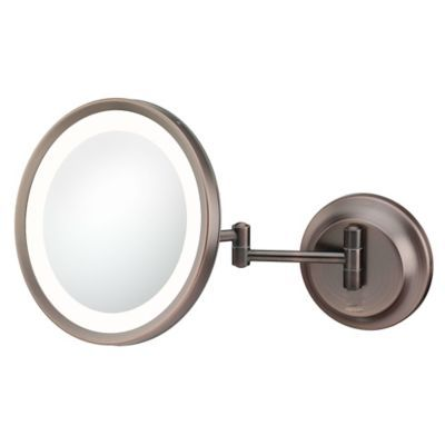 Kimball Young 5x Lighted Makeup Mirror In Bronze Makeup Mirror With Lights Led Makeup Mirror Mirror