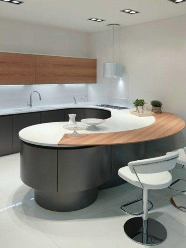 Plan De Travail Arrondi Cuisines Darty Cuisine Ilot Central Ikea Kitchenfurniture Kitchen Furniture Cabinets
