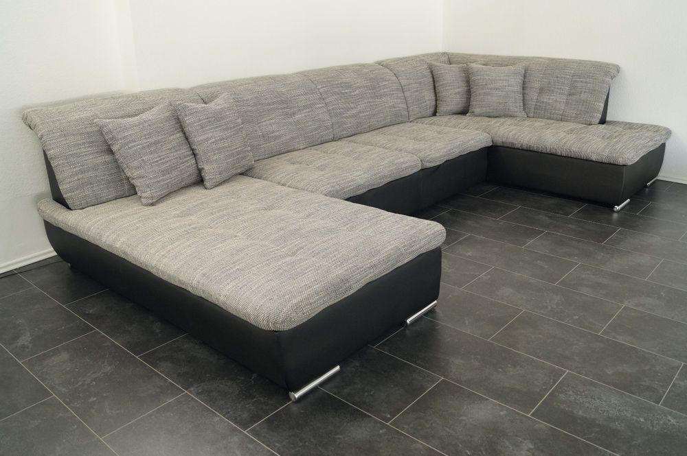 Sofa Lagerverkauf COuch Wohnlandschaft megasofa Polsterecke SWGRRE ...