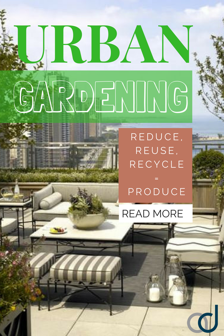 Urban Gardening How great would it be if