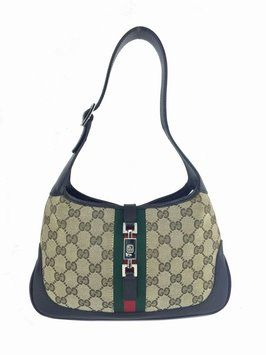 a1790523 Gucci Monogram Web Canvas Small Jackie O Hobo Bag. Hobo bags are hot this  season! The Gucci Monogram Web Canvas Small Jackie O Hobo Bag is a top 10  member ...