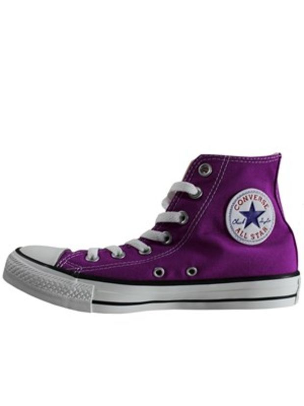 Converse Chuck Taylor All Star Purple Cactus Flower Hi Top