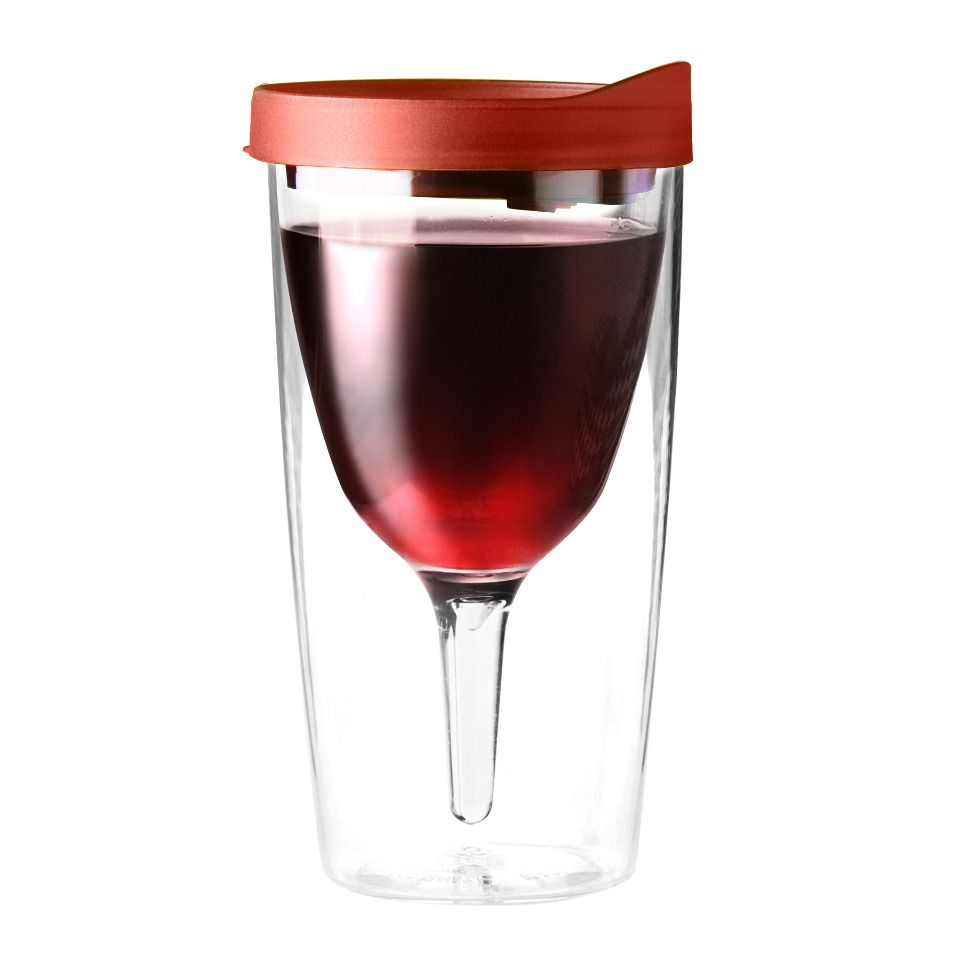 For Those Late Summer Nights Stumbing From Cottage To Cottage Vino 2 Go Wine Tumbler 2 Pack In Red Beyond The Rack Wine Sippy Cup Wine Tumblers Wine