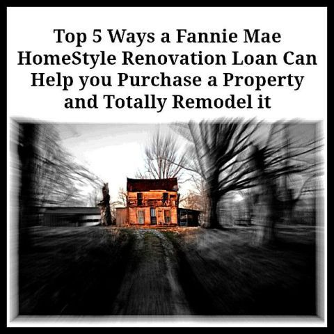 homestyle renovation loan real estate investing real