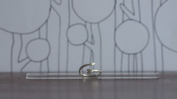 Anillo flecha en plata / silver Arrow ring