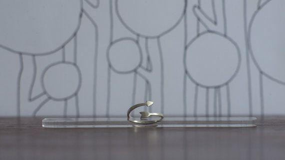 Anillo flecha en plata / silver Arrow ring