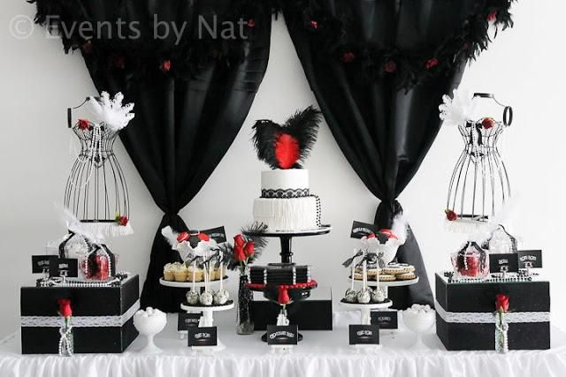 A Roaring 1920s Themed Birthday by Events by Nat Roaring