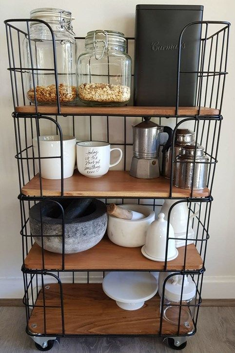 mums share clever kmart basket hacks mouths of mums kitchen decor kmart kitchen trolley on kitchen ideas kmart id=28275