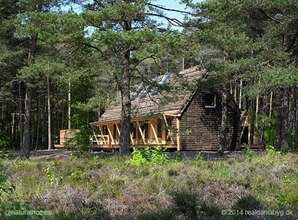 This is an eelgrass home in Denmark. The thatch can last up to 400 years. More…