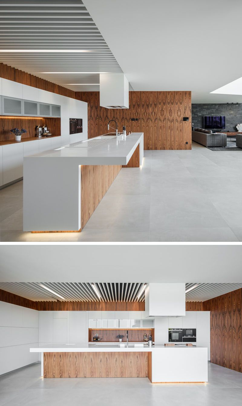 Single Küche 2m The Fraiao House By Trama Arquitetos Kitchens Home Design